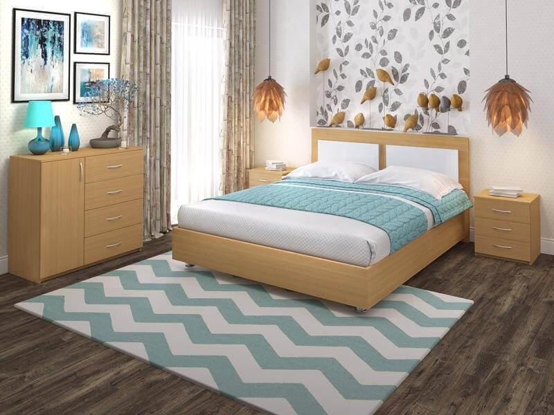 Кровать Promtex Orient Ренли Райс 2