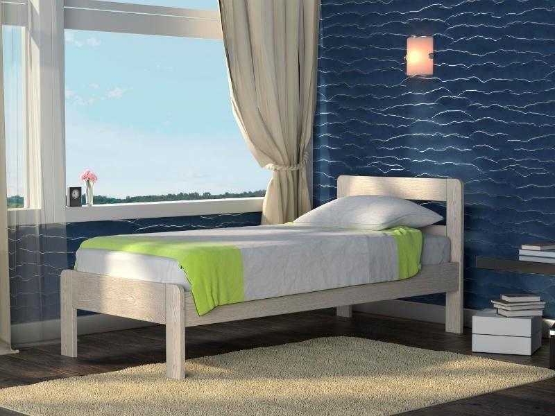 Кровать DreamLine Кредо-1 Low (Ясень)