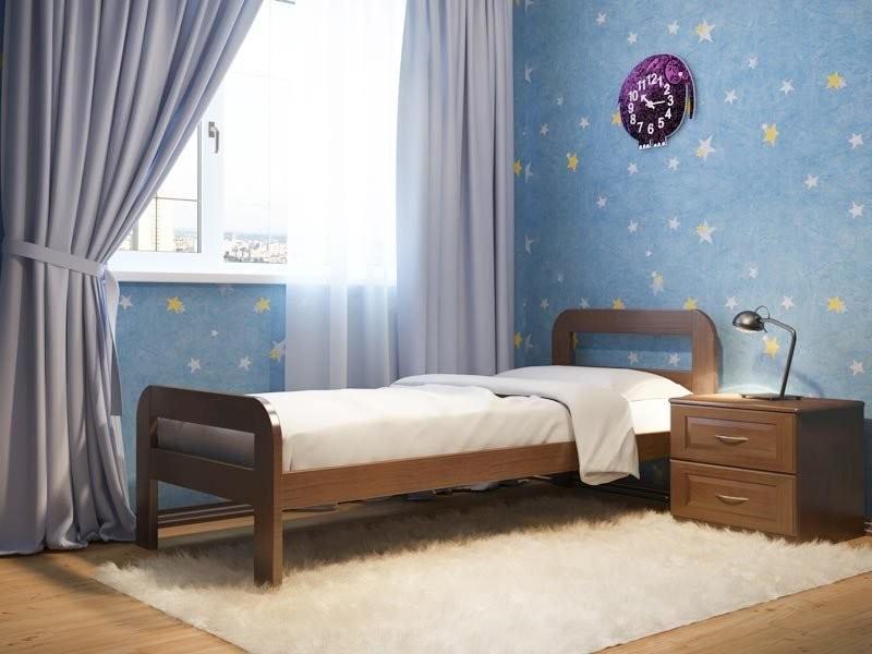 Кровать DreamLine Кредо (Ясень)
