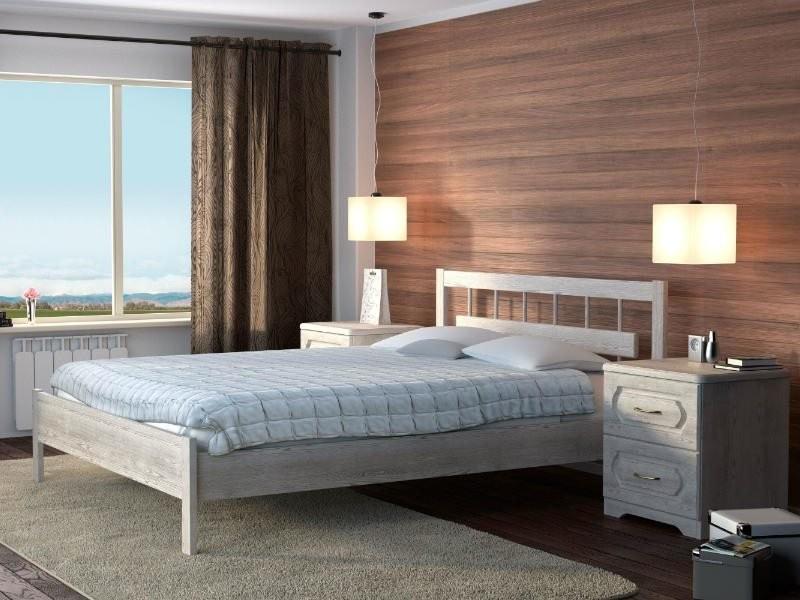 Кровать Dreamline Троя 1 (Бук)