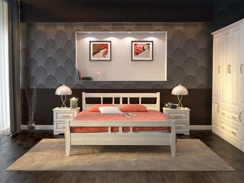 Кровать Dreamline Лагуна из массива бука